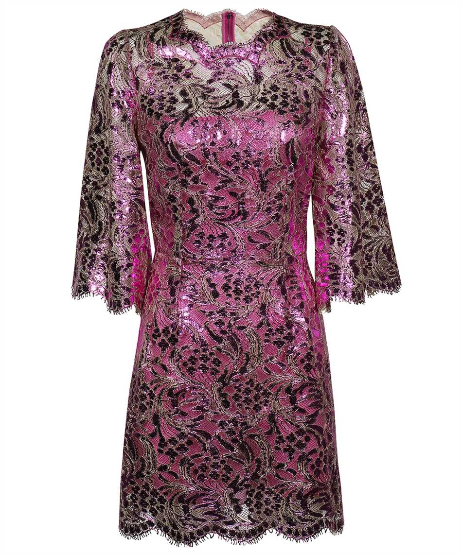 Dolce & Gabbana F6R5UT HLM4T SHORT LAMINATED LACE Kleid 1
