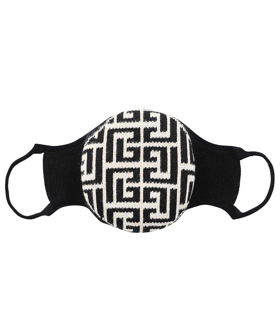 Balmain WH1XD001K265 KNITTED MONOGRAM Maske 1