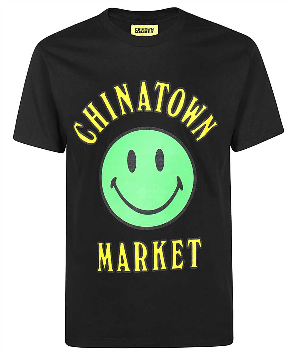 Chinatown Market 1990273 SMILEY MULTI T-shirt 1