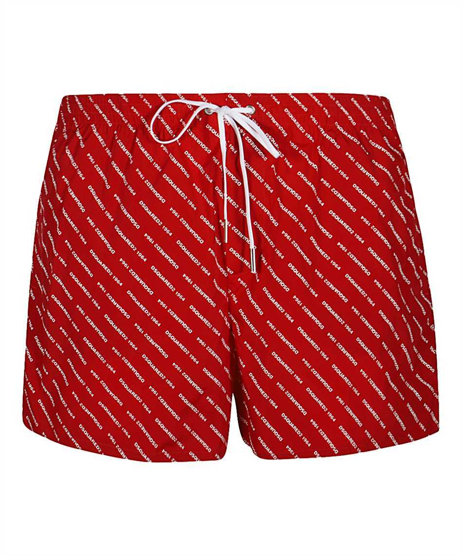 Dsquared2 D7B643290 ALL OVER LOGO Badeshorts 1