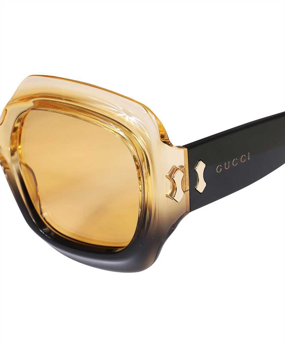 Gucci 663783 J0740 SQUARED-FRAME Occhiali da sole 3