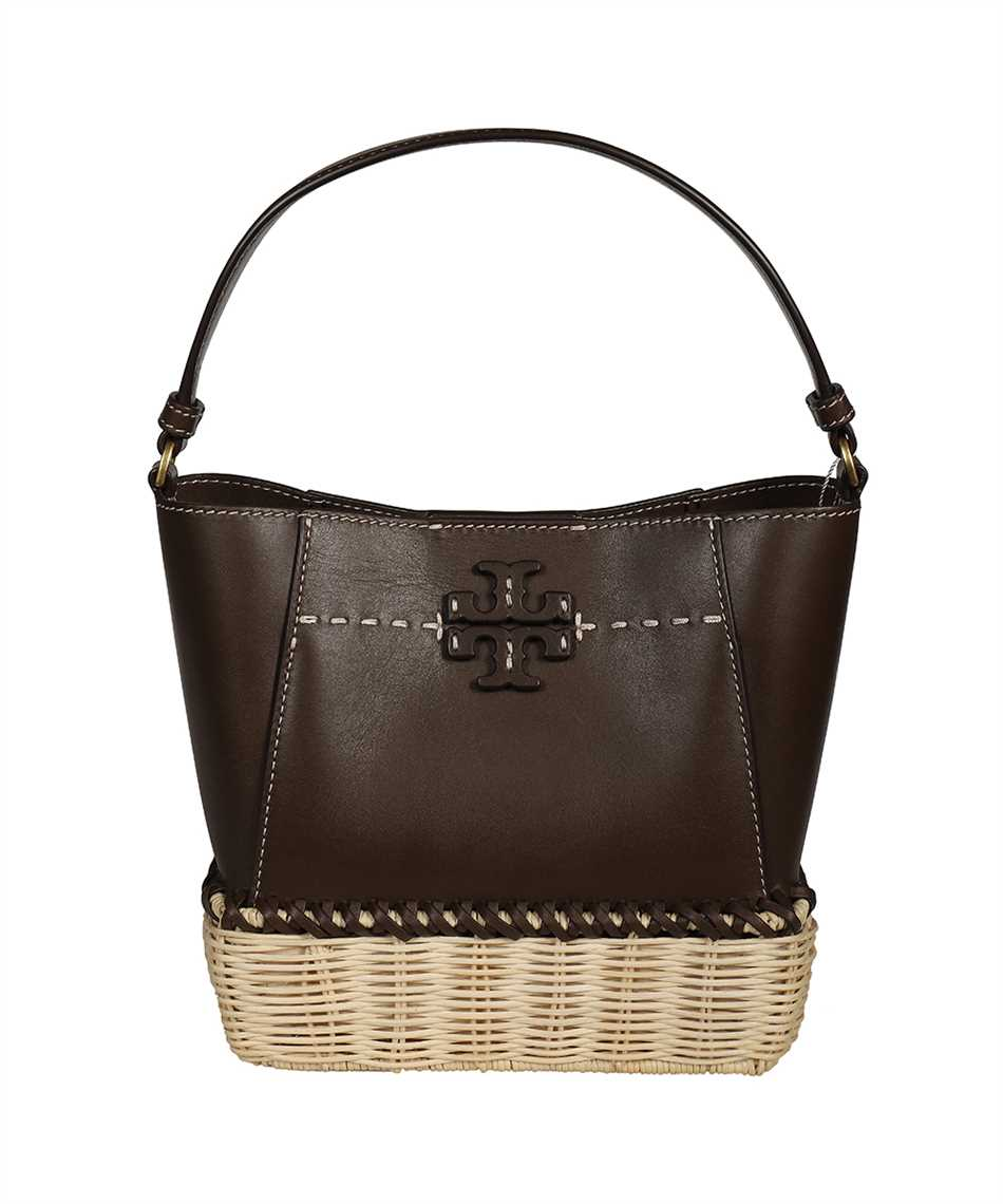Tory Burch 79482 MCGRAW WICKER SMALL HOBO Bag 1
