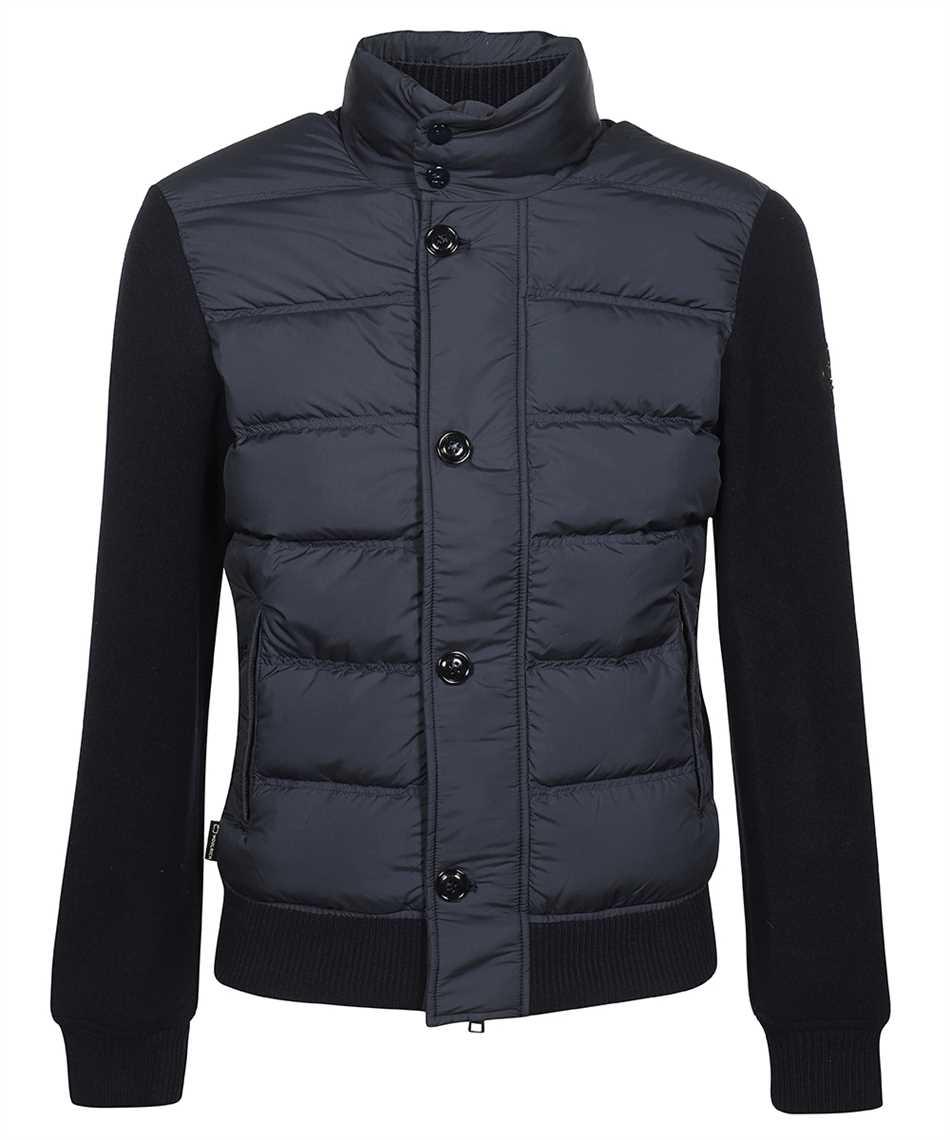 Woolrich CFWOSW0114MRUT2849 BONDED WOOL FULL ZIP Jacket 1