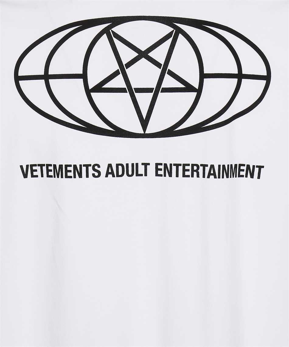 Vetements UA52TR390W 18+ RESTRICTED T-shirt 3