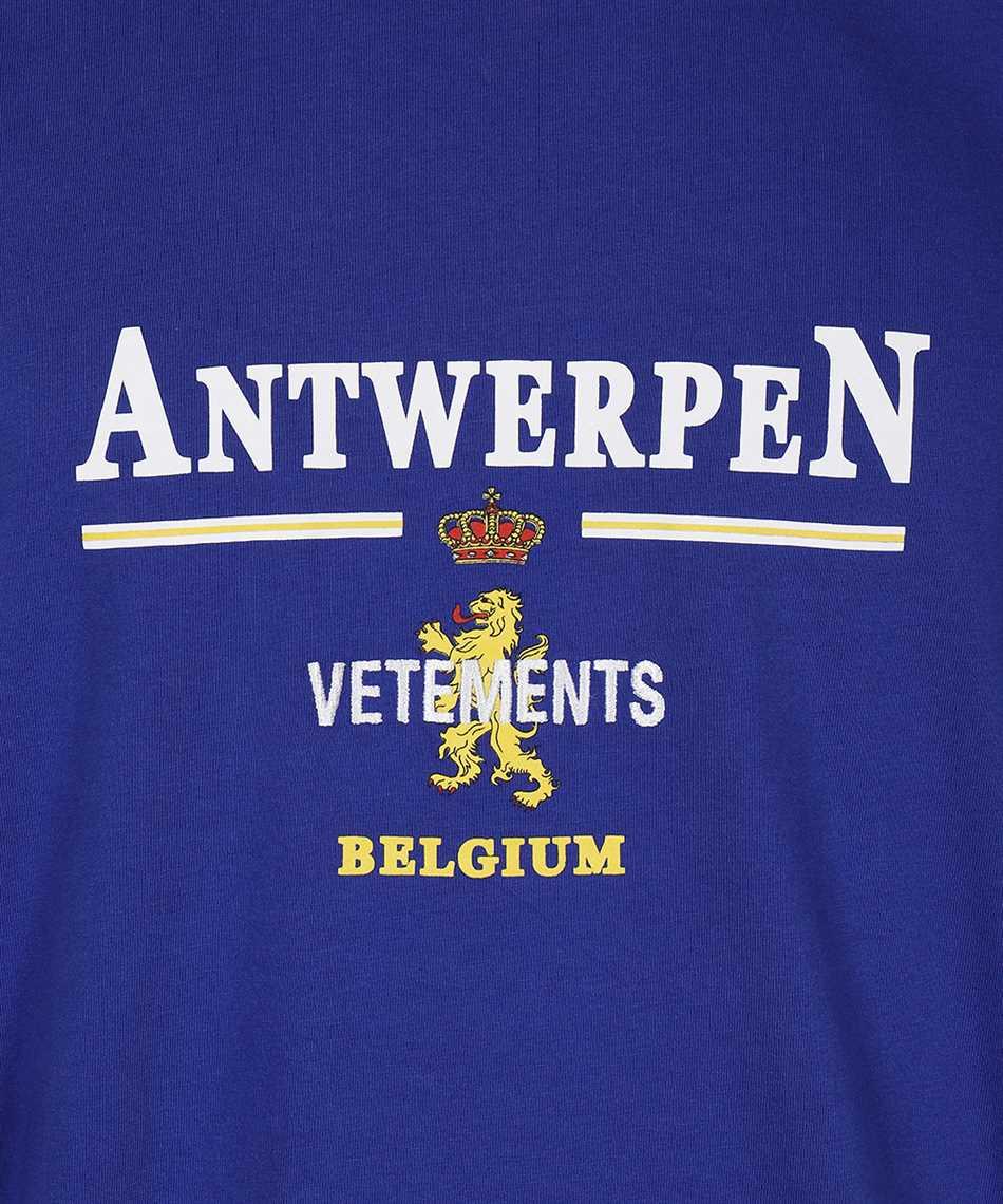 Vetements UE51TR430R ANTWERP LOGO T-shirt 3