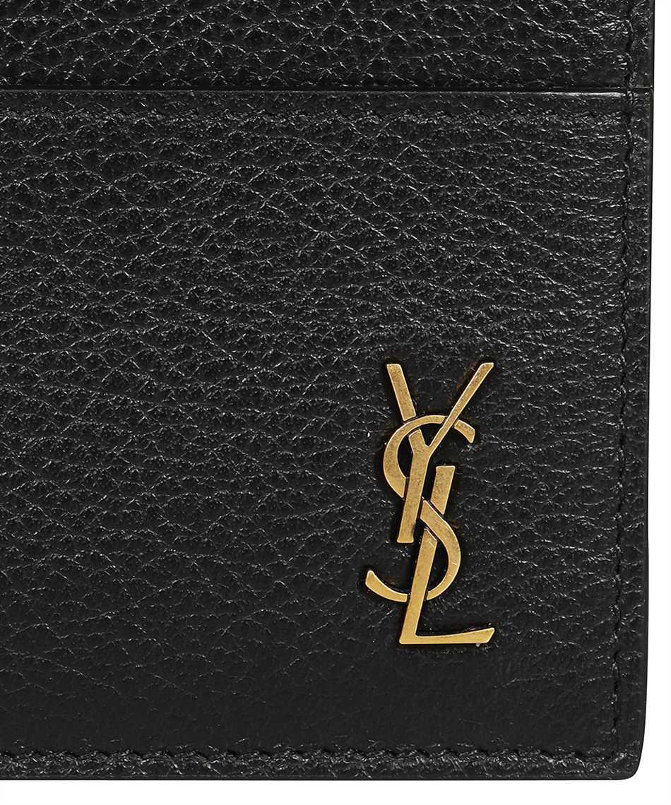 Saint Laurent 635262 15B0W TINY MONOGRAM Kartenetui 3