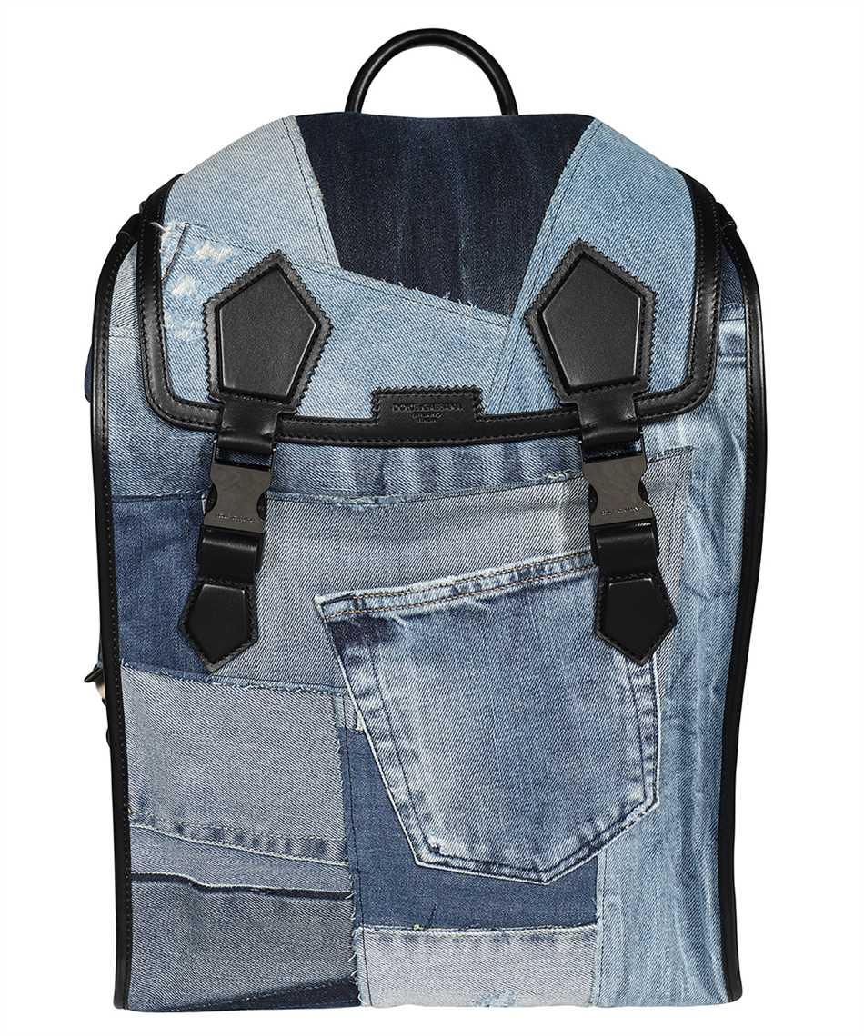 Dolce & Gabbana BM1799 AW347 PATCHWORK DENIM EDGE Backpack 1