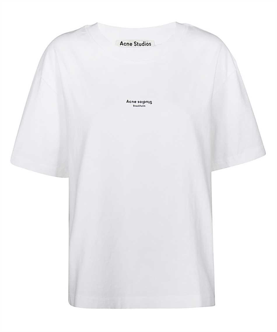 Acne FN-WN-TSHI000196 REVERSE LOGO T-Shirt 1