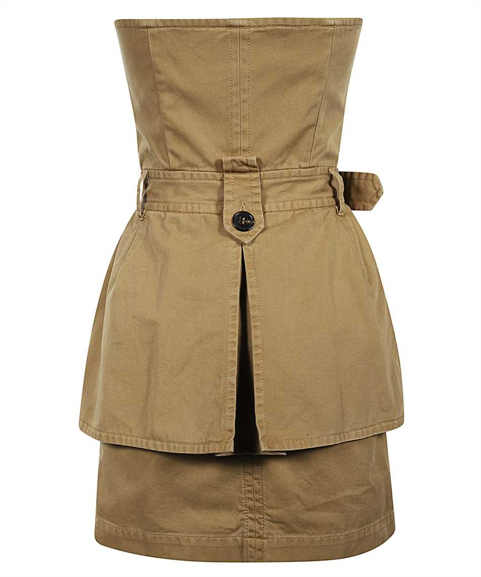 Dsquared2 S72CV0137 S52994 DECONSTRUCTED TRENCH Kleid 2
