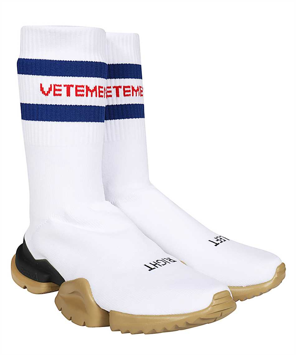 Vetements UE51SN500W CLASSIC LOGO SOCK RUNNERS Sneakers 2