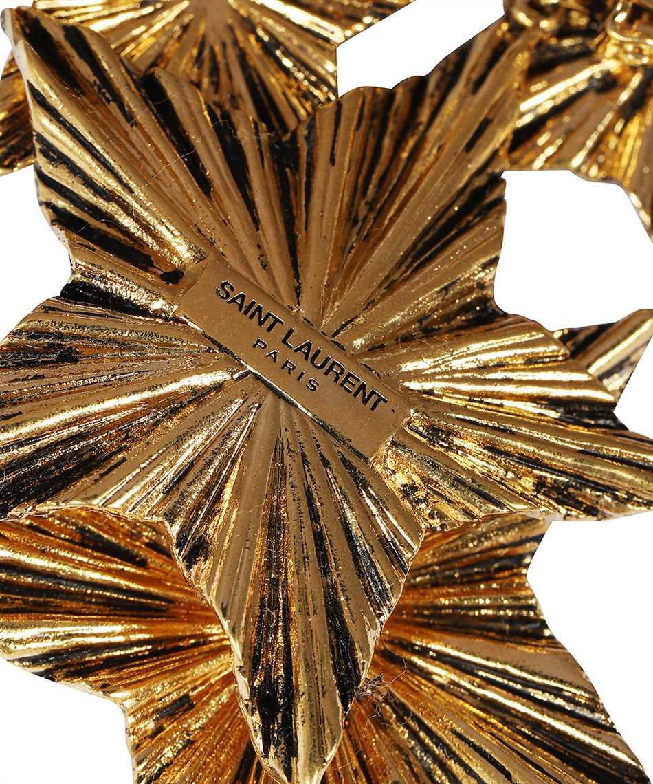 Saint Laurent 633473 Y1500 2 STARS Orecchini 3