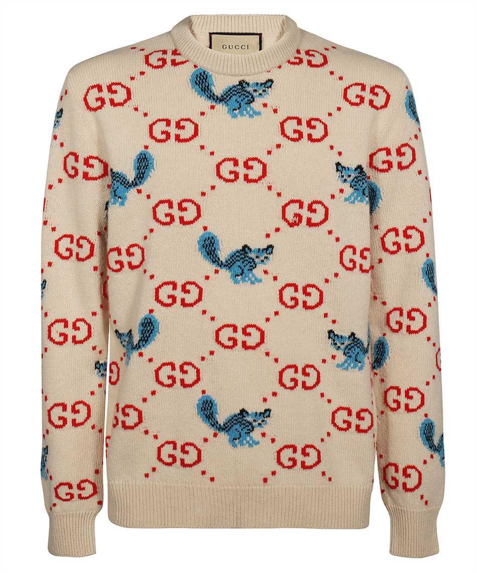 Gucci 661836 XKBXX FREYA HARTAS GG ANIMAL Strick 1