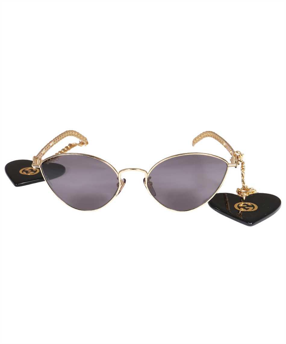 Gucci 663767 I3330 HEART SHAPED CHARMS CAT EYE Sunglasses 1