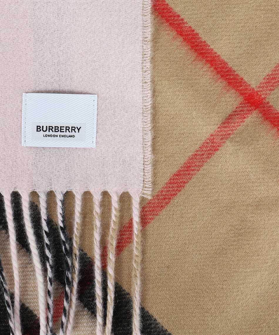 Burberry 8035912 REVERSIBLE CHECK CASHMERE Sciarpa 3