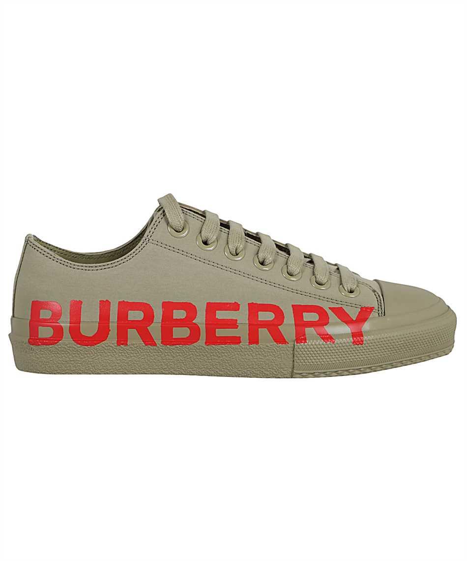 Burberry 8037649 LOGO PRINT COTTON GABARDINE Sneakers 1