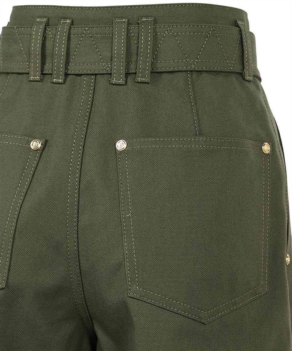 Balmain WF0MH021D152 BELTED BOYFRIEND Jeans 3