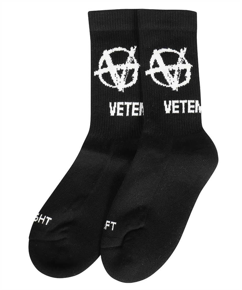 Vetements UA52SO300B ANARCHY LOGO Socken 1