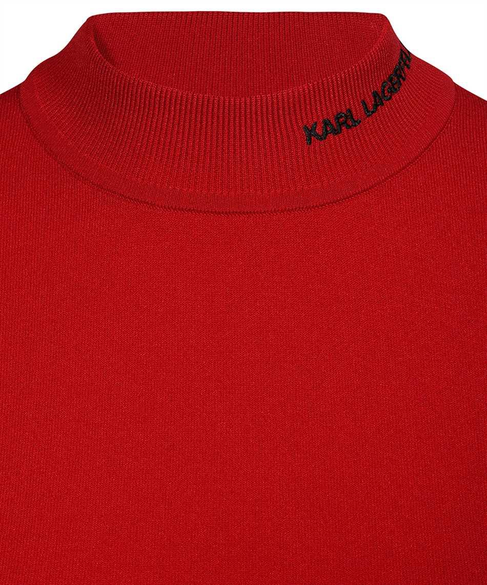 Karl Lagerfeld 216W2010 KARL LOGO MOCK-NECK Maglia 3