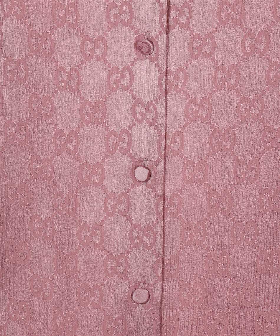 Gucci 627773 ZAEJF GG CREPE Shirt 3