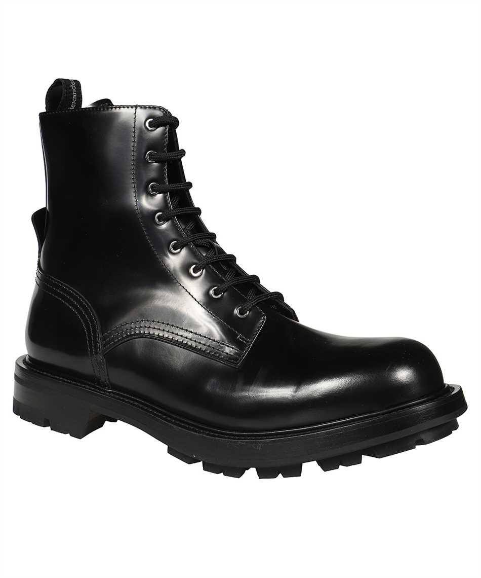 Alexander McQueen 651621 WHZ80 SHINY LIQUID WORKER Boots 2