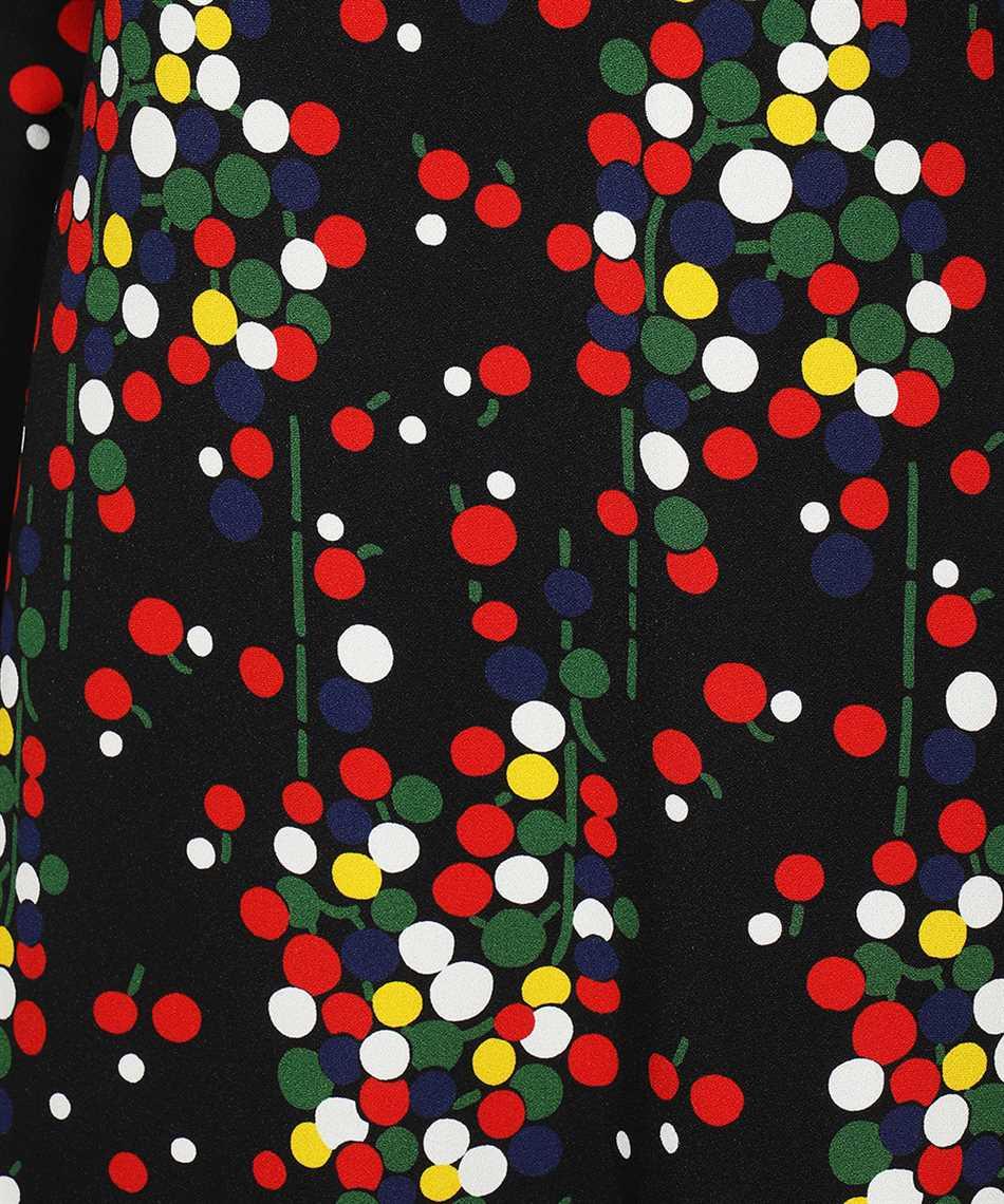 Saint Laurent 663410 Y5D23 CONFETTI-PRINT SABLÉ Dress 3