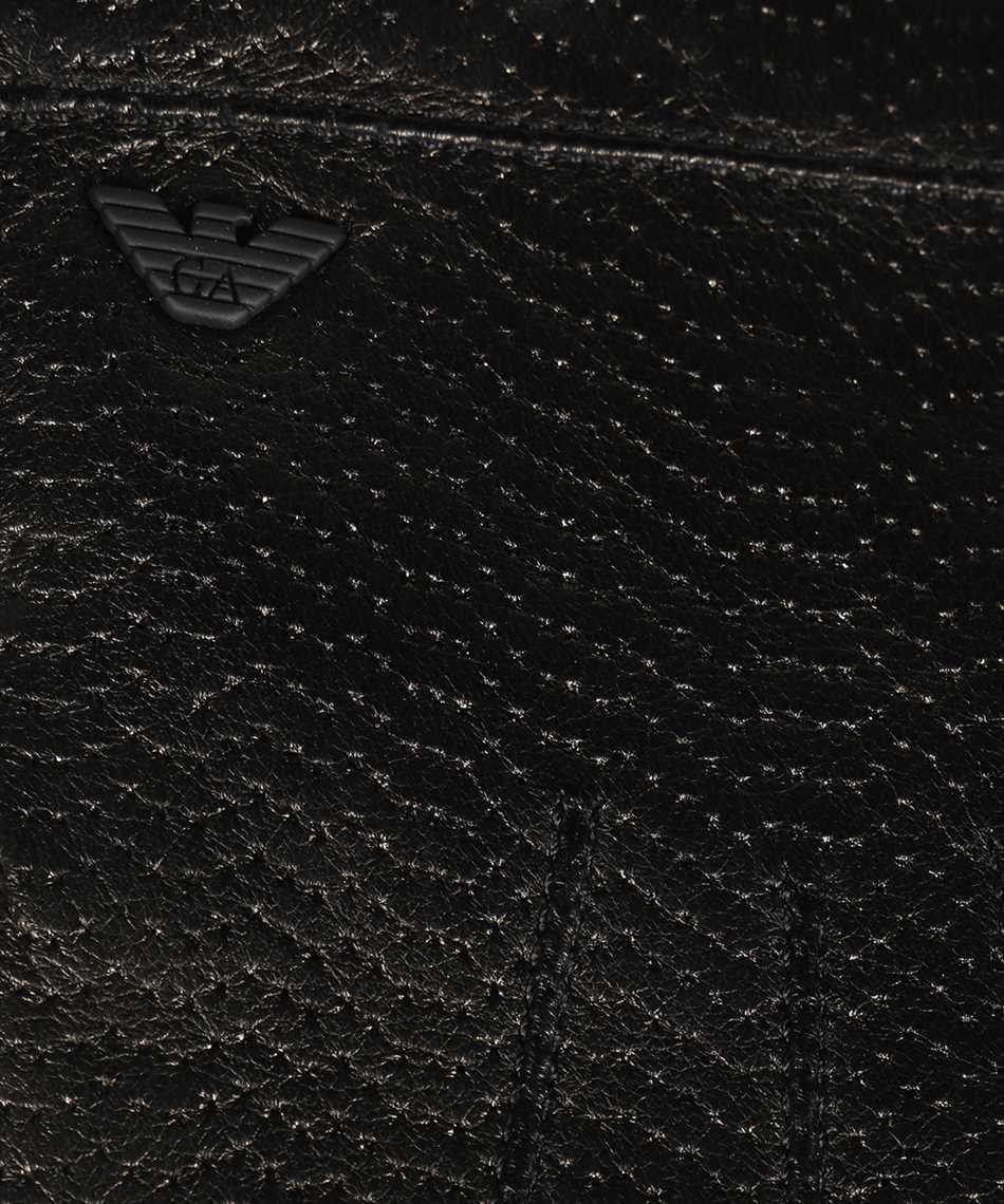 Emporio Armani 624136 0A200 LEATHER Gloves 3
