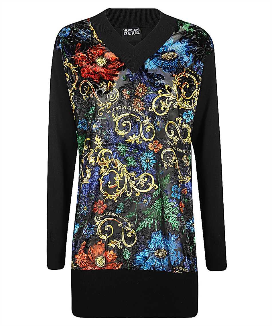 Versace Jeans Couture B4HZB812 50480 VELVET FLORA Maglia 1