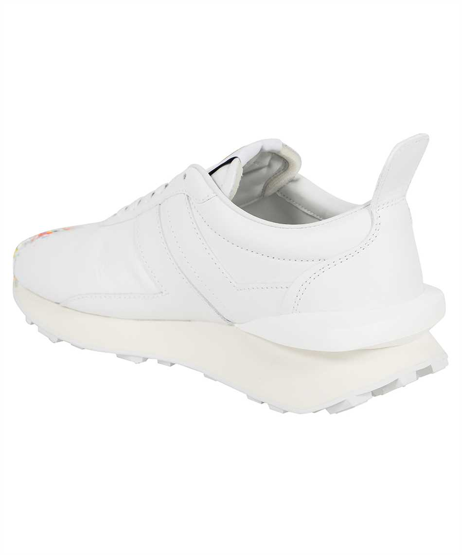 Lanvin FM SKBRUC SGGD E21 PAINTED NAPPA LEATHER BUMPR RUNNING Sneakers 3