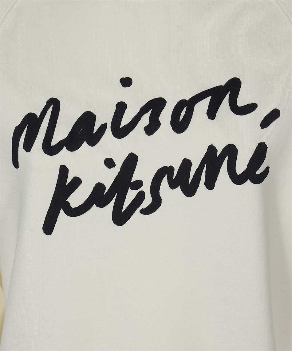 Maison Kitsune FW00335KM0001 HANDWRITING ADJUSTED Sweatshirt 3