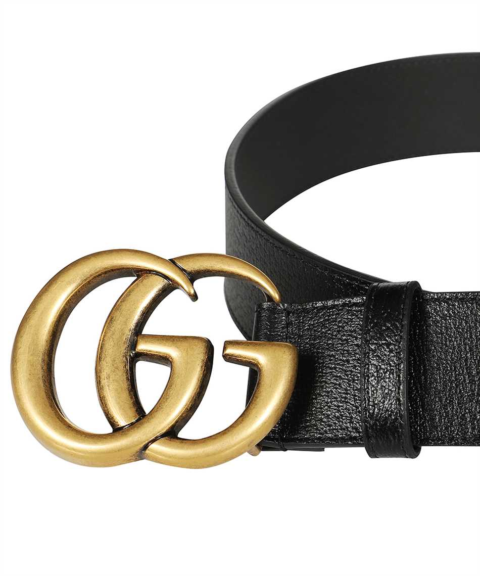 Gucci 406831 DJ20T DOUBLE G BUCKLE Belt 3