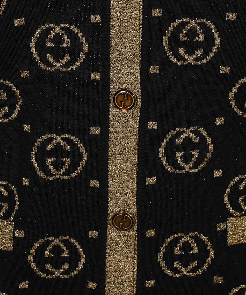 Gucci 555014 XKAH9 GG MOTIF Cardigan 3
