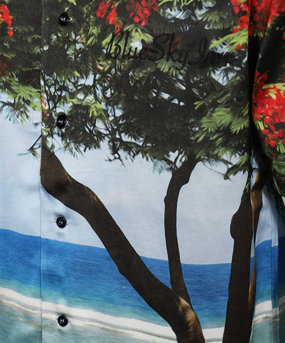 Blu sky inn BS2101SH004 TREE Camicia 3