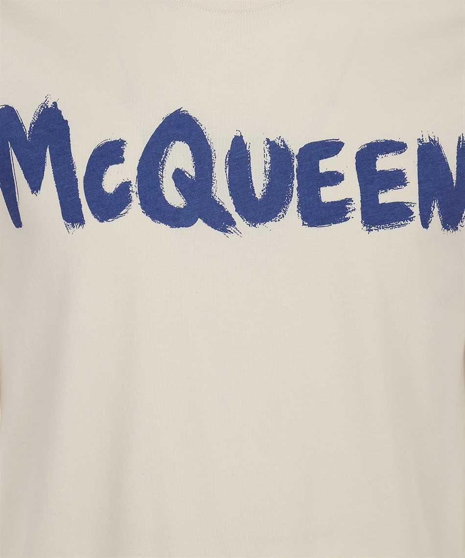 Alexander McQueen 622104 QRZ57 GRAFFITI T-shirt 3