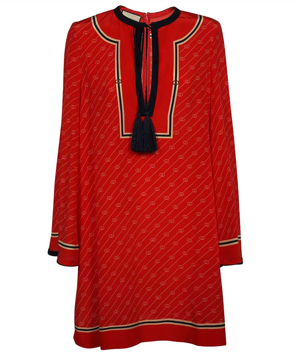 Gucci 661958 ZAHAX GG DIAGONAL SILK Shirt 1
