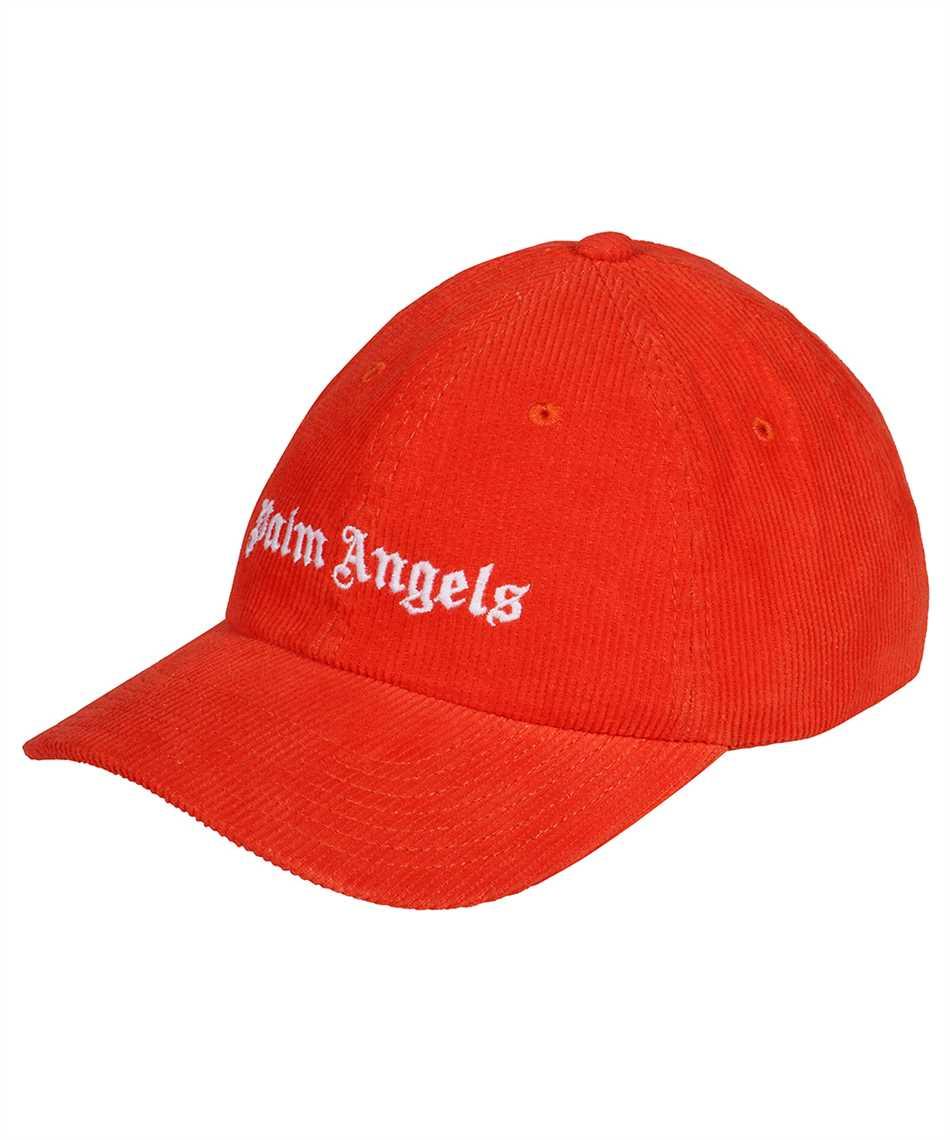 Palm Angels PMLB003F21FAB001 CORDUROY LOGO Kappe 1