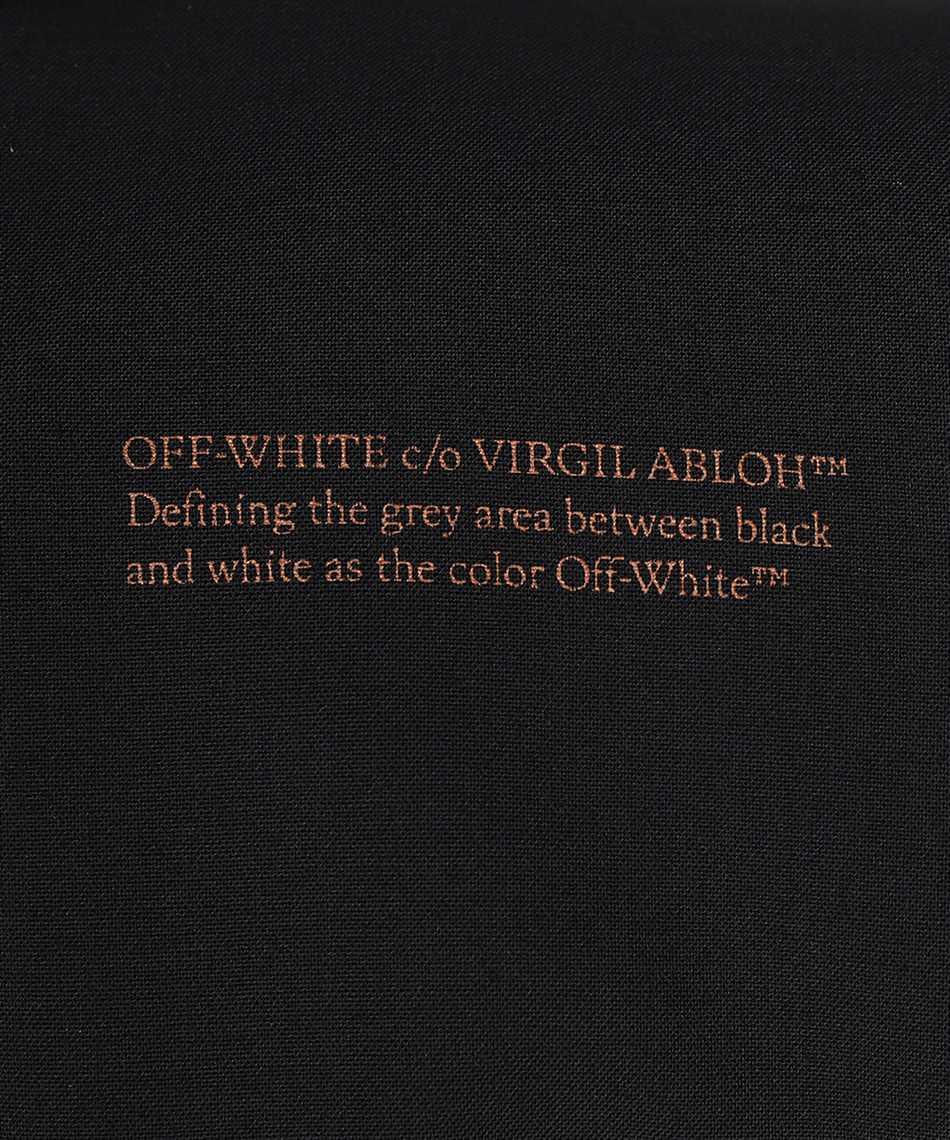 Off-White OWEF078F21FAB001 LIGHT WOOL HOURGLASS Giacca 3