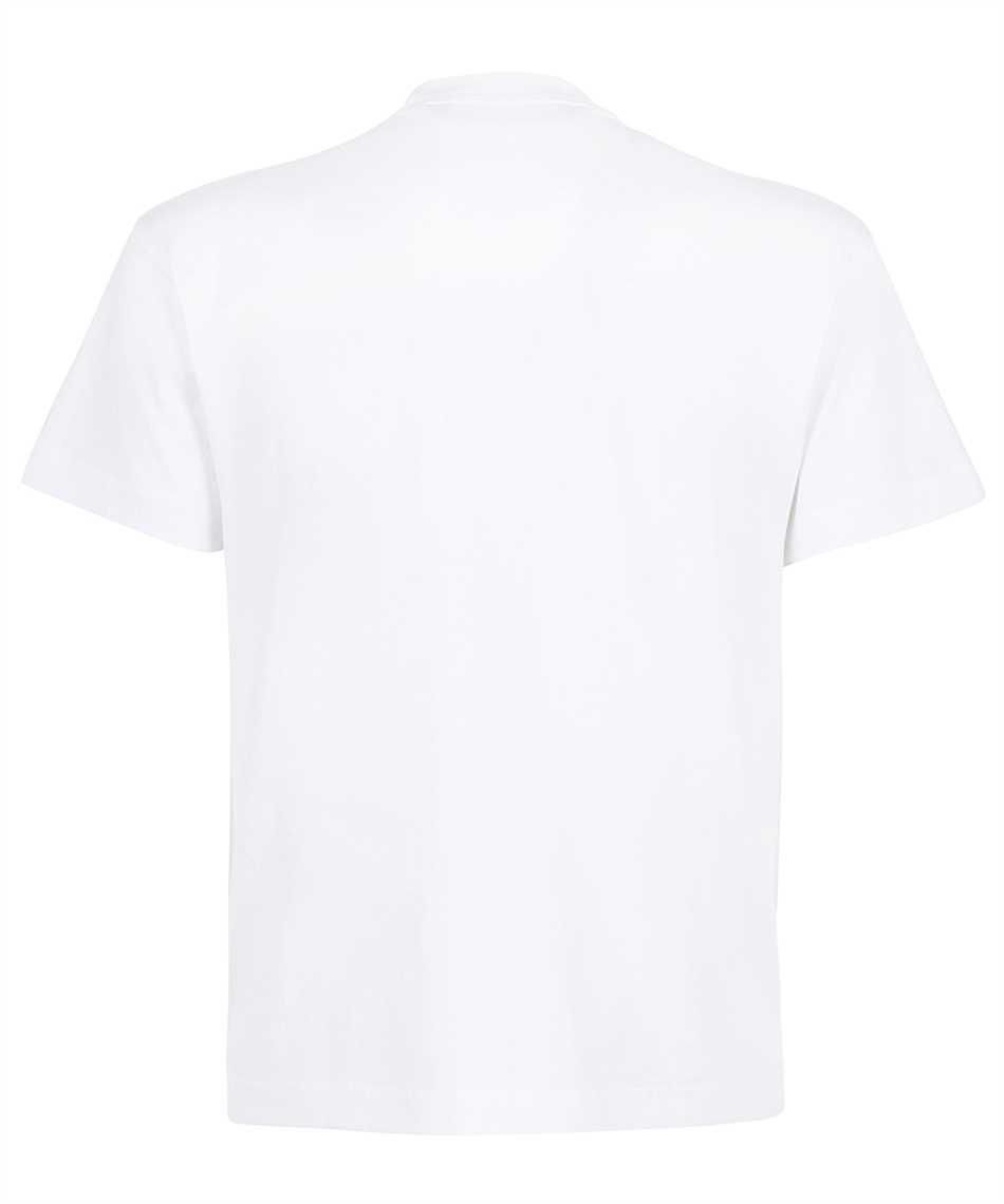 Palm Angels PMAA001F21JER002 ST MORITZ HEART SPRAYED T-shirt 2