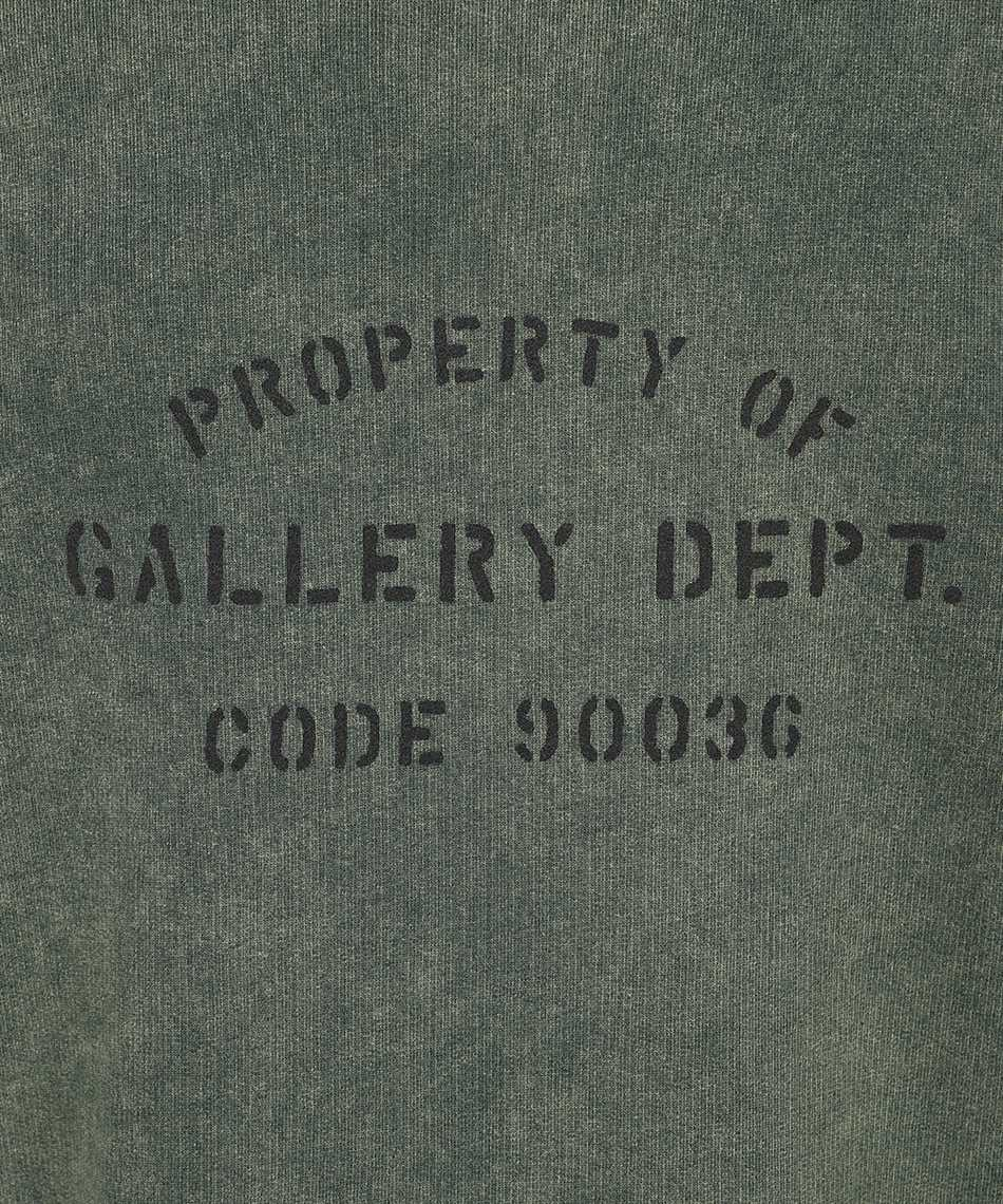 Lanvin RM HO0001 J093 E21 GALLERY DEPT. WITH WORN EFFECT PAINT MARKS Hoodie 3