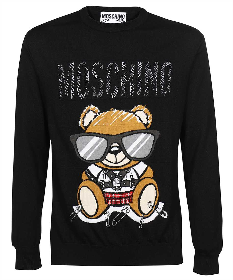 Moschino V 0921 5200 MIXED TEDDY BEAR WOOL Strick 1