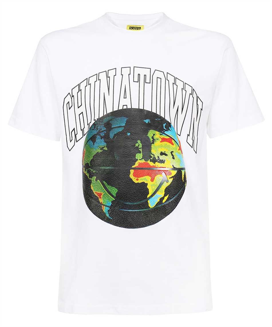 Chinatown Market 1990409 SMILEY GLOBAL CITIZEN B-BALL T-shirt 1