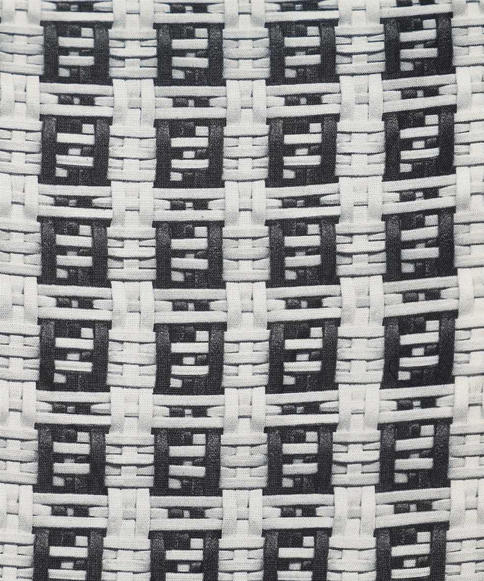 Fendi FS0795 AFXE OVERSIZED FF MICRO PATTERN Shirt 3