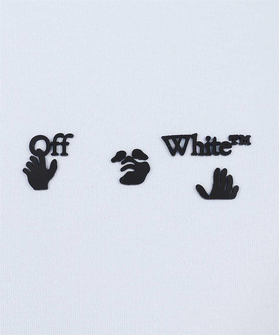Off-White OWAA089S21JER005 OW LOGO REG T-shirt 3