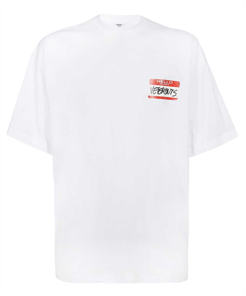 Vetements UE52TR140W MY NAME IS VETEMENTS T-shirt 1