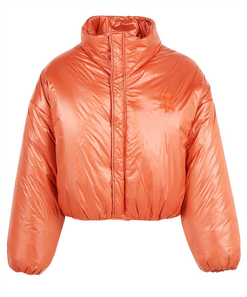 Opening Ceremony YMED003F21FAB001 CRESTLOGO PATCH HOODED PUFFER Jacket 1