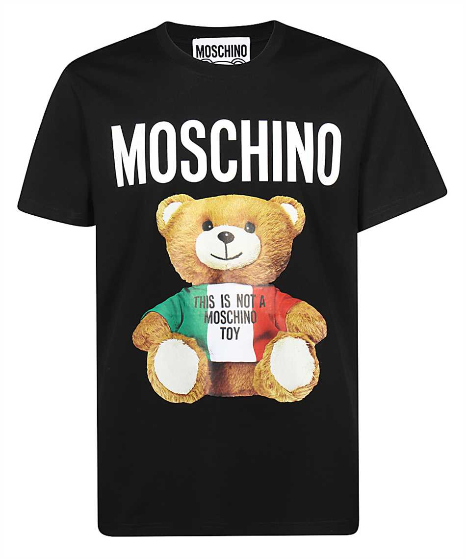 Moschino V0720 2040 ITALIAN TEDDY BEAR T-Shirt 1