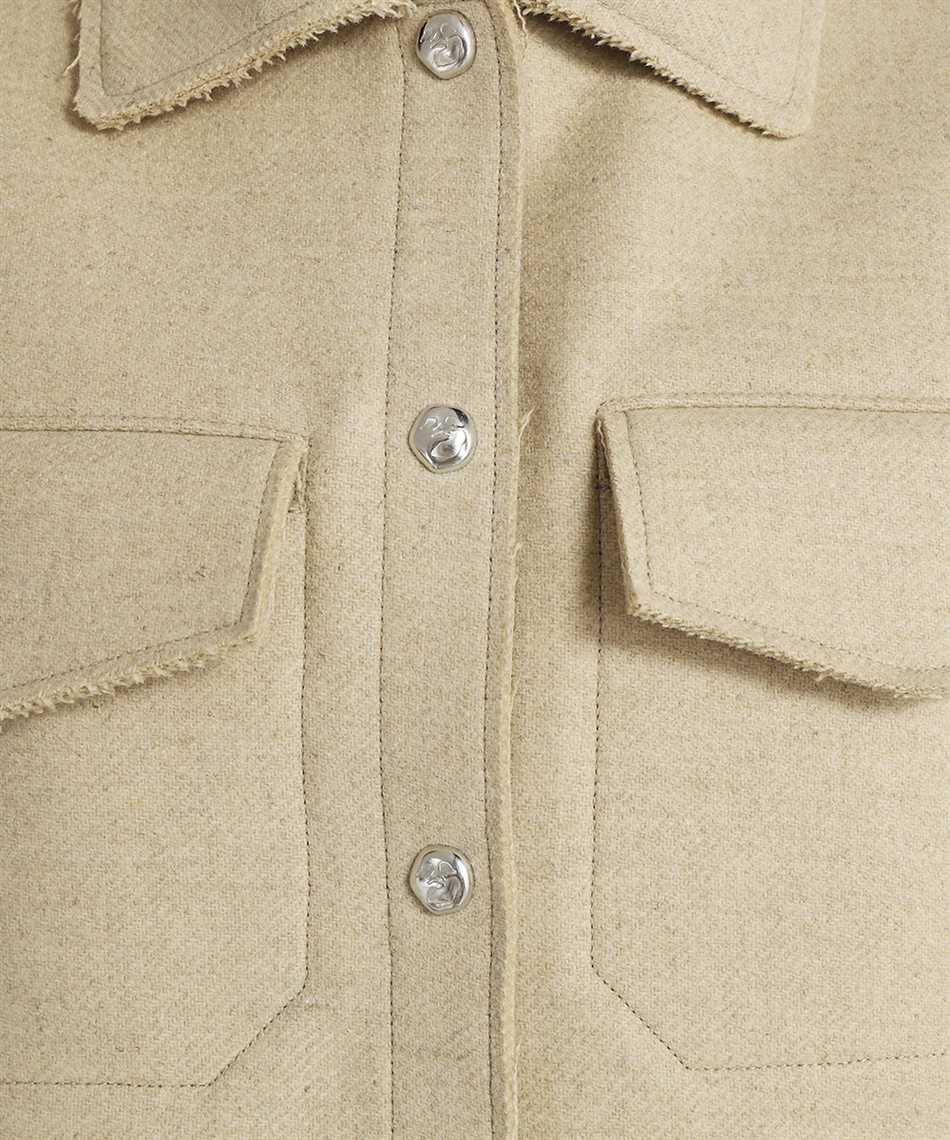 Off-White OWEA261F21FAB001 HEAVY COATING SHIRT Jacket 3