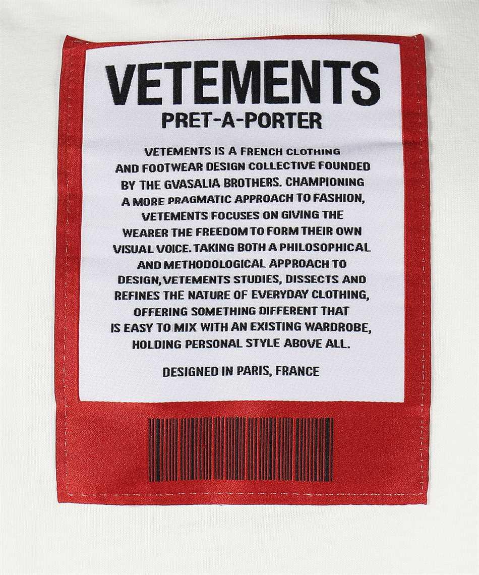 Vetements UE51TR540W LOGO PATCH T-shirt 3