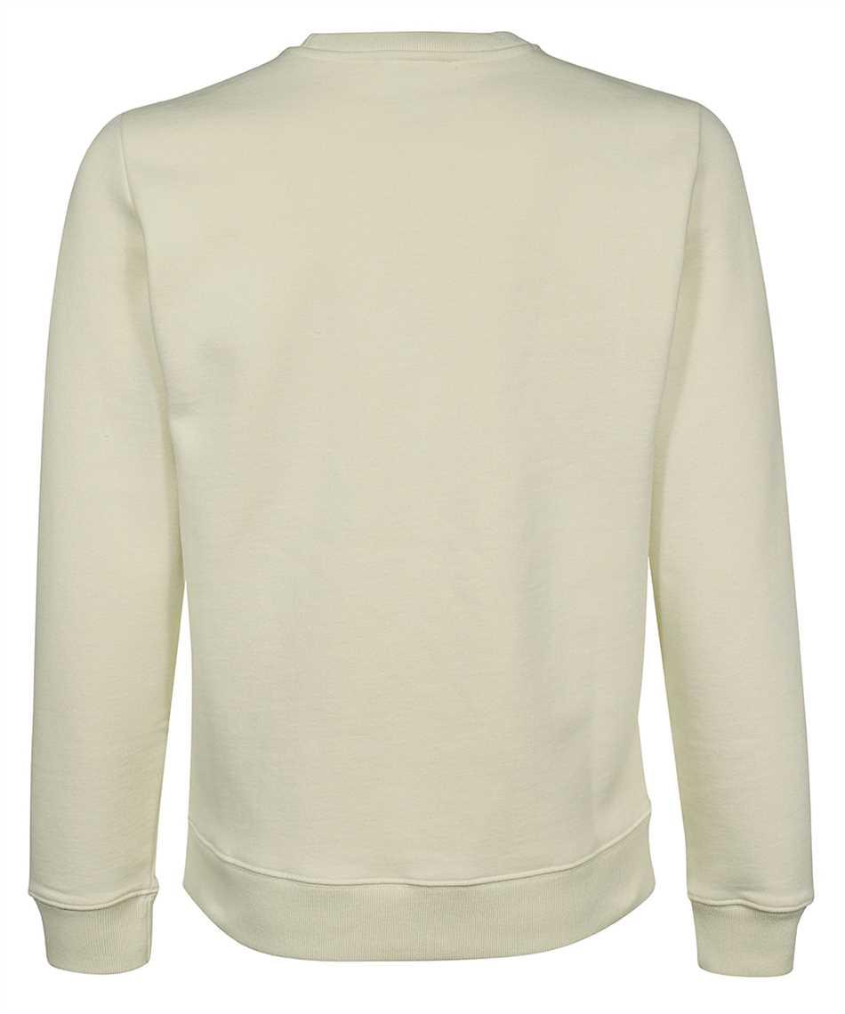 Maison Kitsune HM00330KM0020 NEON LINE TYPO EMBROIDERY REGULAR Sweatshirt 2