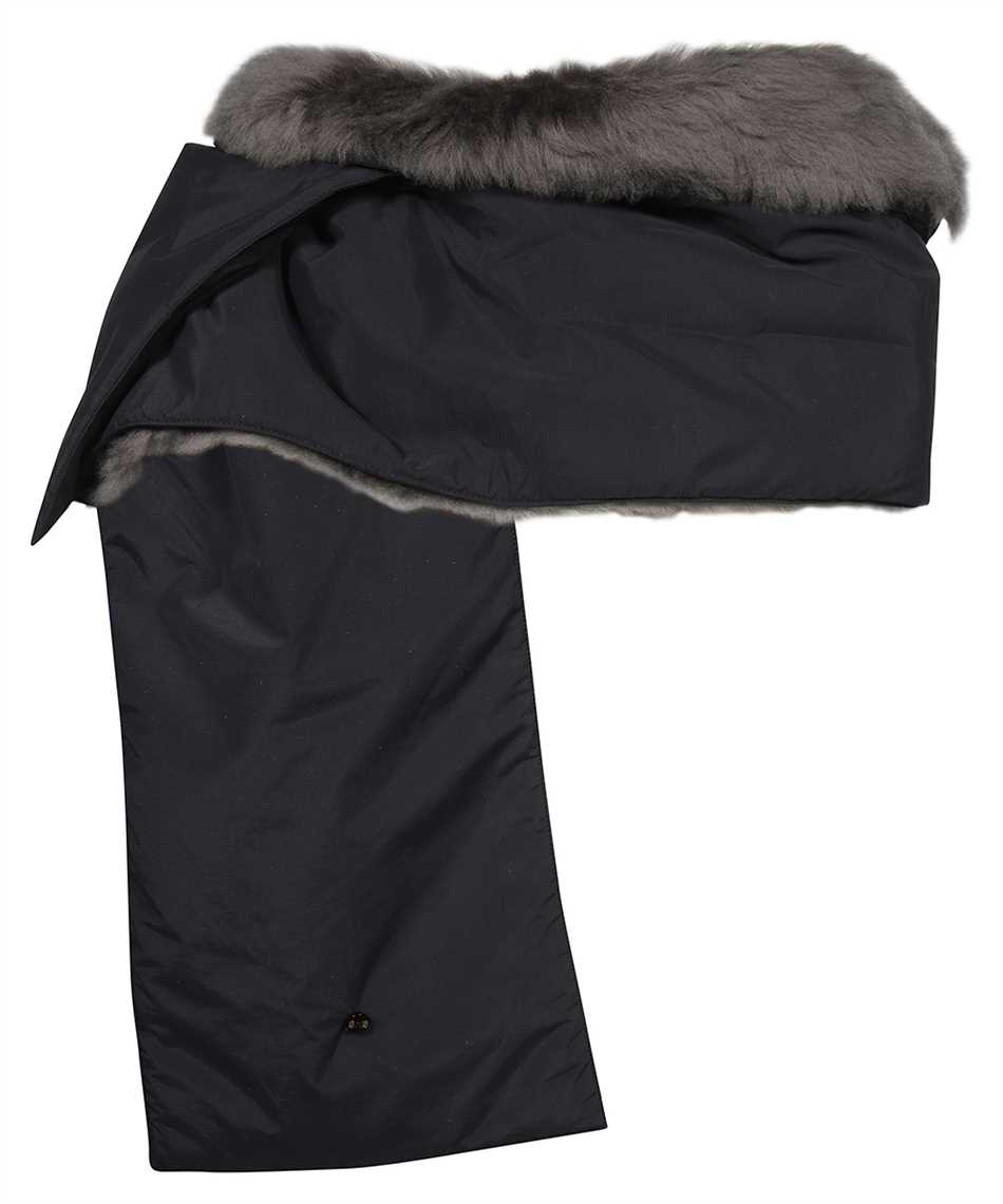 Karl Donoghue NCCPSW1 NYLON & CASHMERE TOUCH SHEARLING PADDED Schal 2