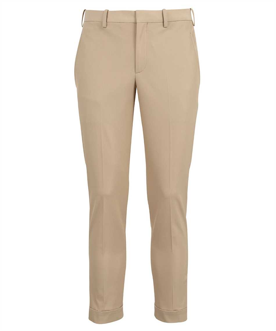 Neil Barrett PBPA488 Q012 TRAVEL SLIM REGULAR RISE Trousers 1